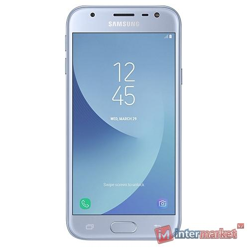 Смартфон Samsung Galaxy J3 (2017) Silver